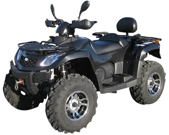 QUAD ATV 600CCM HUNTER 600 EFI
